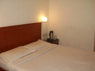 Chennai : Notre chambre à l'hôtel Chandra Park