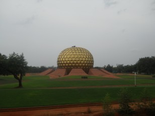 Auroville : Le Matrimandir