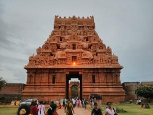 Tanjore : Le Brihadishvara Temple, autrement dit le Big Temple
