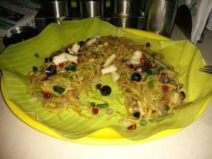 Chennai : Notre premier repas bien mérité !
