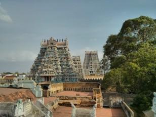 Tiruchirapally : La vue depuis les toits-terrasses