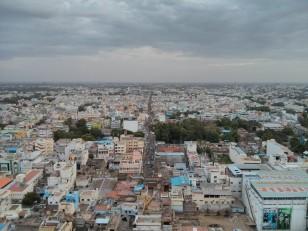 Tiruchirapally : La vue depuis le Rock Fort