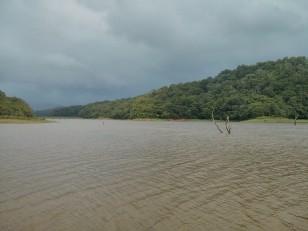 Kumily : Le lac…