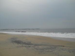 Allepey : La plage de sable blanc