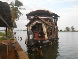 Allepey : Notre houseboat