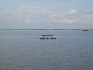 Allepey : Des pêcheurs