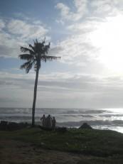Varkala : La plage