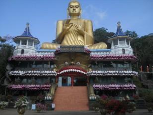 Dambulla : Le temple d'Or