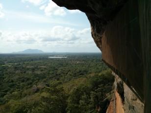 Sigiriya : La vue depuis rocher du lion