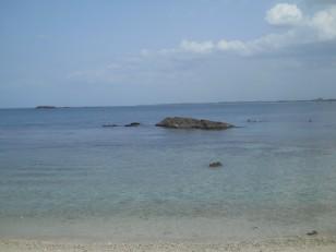 Pigeon Island : L'une des plages de l'île