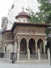Bucarest: L'Eglise du monastère Stavropoleos