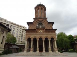 Bucarest: Le monastère Antim