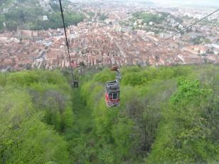 Brașov: La vue depuis les hauteurs