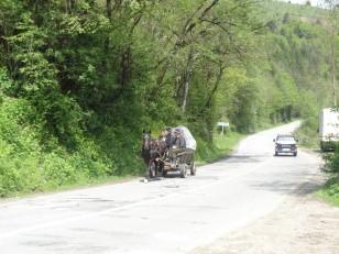 Sur la route de Turda