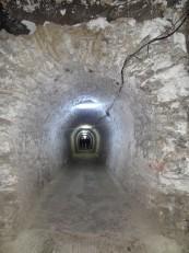 Turda: L'une des galeries d'accès