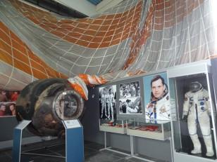 Bucarest : ... et une capsule spatiale !