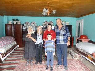 Săpânța : La maison de George et Mama