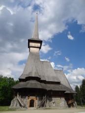 Săpânța: Le monastère et son église traditionnelle en bois