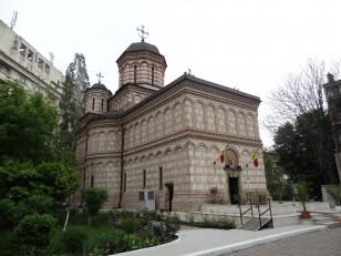 Bucarest : L'Eglise Mihai Vodă