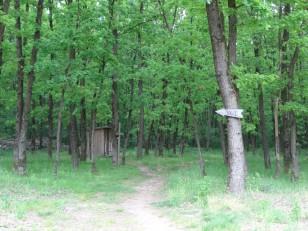 Săpânța : La cabane au fond du jardin