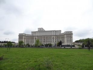 Bucarest : Le palais du Parlement