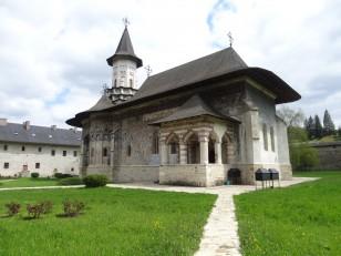La Bucovine: Le monastère de Sucevița