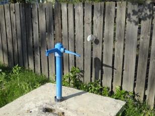 Tazlău: Une fontaine à eau
