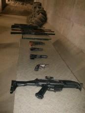 Prague: Il est possible d'y tester une dizaine d'armes différentes