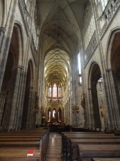 Prague: L'intérieur de la cathédrale Saint-Guy