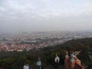 Prague: La vue depuis la tour d'observation