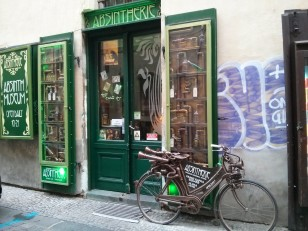 Prague : L'Absintherie