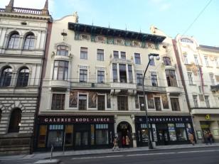 Prague: La rue Národní