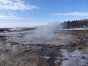 Le cercle d'or : Le champ géothermique de Geysir…