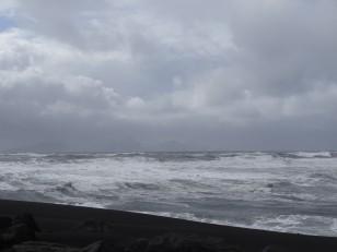Le Sud de l'Islande : La mer est tellement agitée, qu'aucun départ n'est possible