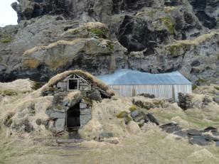 Le Sud de l'Islande : Une petite maison typique entre Seljalandsfoss et Skógafoss