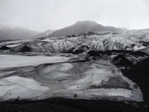 Le Sud de l'Islande : Le glacier Sólheimajökull