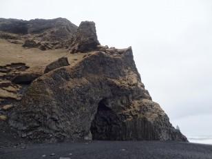 Le Sud de l'Islande : La plage de sable noir de Reynisfjara