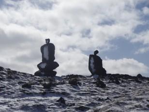 La péninsule de Reykjanes : Là aussi, il est d'usage d'y laisser un petit cadenas !