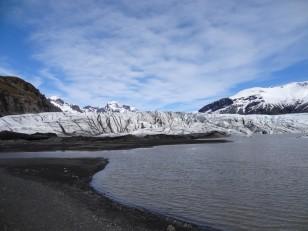 Le Sud de l'Islande : Le parc national de Skaftafell et son glacier Skaftafellsjökull