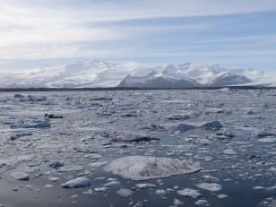 Le Sud de l'Islande : Le lagon de glace Jökulsárlón