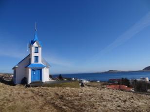 L'Est de l'Islande : L'église de Stöðvarfjörður