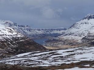 L'Est de l'Islande : Le fjord de Seyðisfjörður