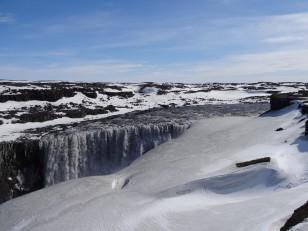 Le Nord de l'Islande : Dettifoss, la cascade la plus puissante d'Europe
