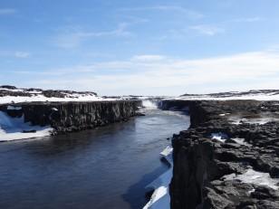Le Nord de l'Islande : Selfoss, une cascade constituée de plusieurs chutes d'eau