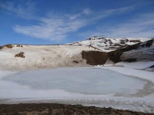 Le Nord de l'Islande : Le cratère Víti du volcan Krafla