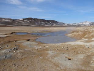 Le Nord de l'Islande : Le site géothermique de Hverir et ses mares de boue bouillonnante