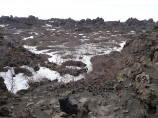 Le Nord de l'Islande : Les « châteaux sombres » de Dimmuborgir