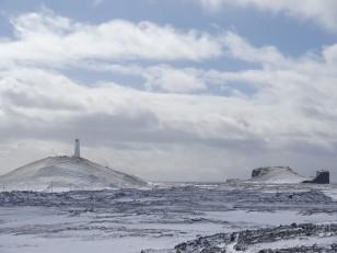 La péninsule de Reykjanes : Le phare de Reykjanes