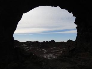 Le Nord de l'Islande : La vue depuis l'arche basaltique de Gatklettur
