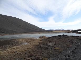 Le Nord de l'Islande : La vue depuis le volcan Hverfjall